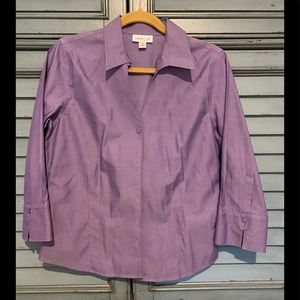 Coldwater Creek Ladies Button down shirt in PM